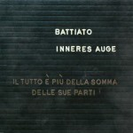 Franco Battiato - Inneres Auge - cover album