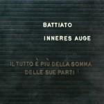 Franco Battiato - Inneres Auge - cover album