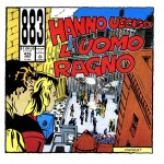 883 - Hanno ucciso l'uomo ragno - cover album
